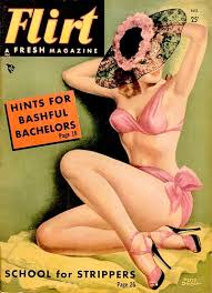 Image result for images girlie magazines of the 50s