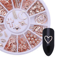 Rose Gold Metal <b>Nail</b> Art Accessories for sale | eBay