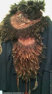 <b>Gorgeous</b> scarf. <b>Палантин</b>+валяный,+эко-мех+`Женщина+скво`.+ ...