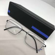 Oversized <b>Business Glasses</b> Frame Men <b>Eyewear Pure Titanium</b> ...