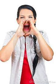 Resultado de imagem para imagens de pessoa gritando