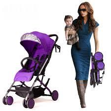 Babyfond Aluminum Alloy <b>Mini Baby</b> trolley Super Portable Folding ...
