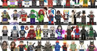super cool Action Figures Building Blocks Civil War X-Men Hulk ...