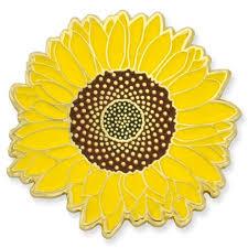 <b>Sunflower Pin</b> | PinMart