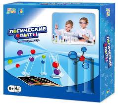 <b>Настольная игра 1 TOY</b> Игродром Логические опыты — купить по ...