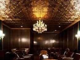sagging tin ceiling tiles bathroom: talissa decor faux tin antique finish ceiling tiles