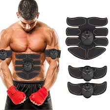 EMS <b>Muscle</b> Training Mat Gear <b>ABS Trainer</b> Body Home Exercise ...