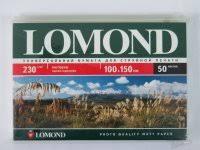 <b>Фотобумага</b> матовая <b>LOMOND 100x150mm</b> 5шт. по 50 листов ...