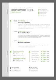 Free Resume Template Downloads  microsoft resume template download     graduate financial analyst CV example click to see the PDF version