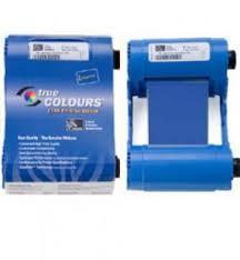 Купить <b>Монохромная</b> синяя <b>лента Zebra</b> 1000 отпечатков ...