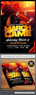 game basketball flyer template flyer template flyers and madness basketball flyer template