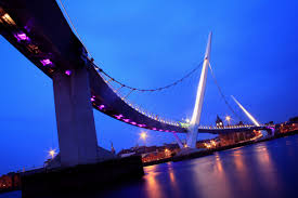 Image result for peace bridge derry