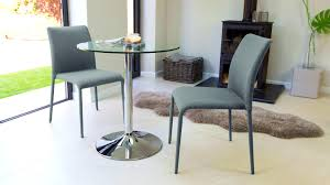dining sets seater: bedroominteresting modern round glass and chrome table seater uk small dining naro interesting modern round glass