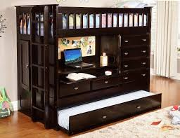 image of loft beds with desk and storage bright bunk beds desk drawers bunk