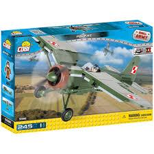 <b>Конструктор COBI</b> Вторая Мировая Война <b>Самолет</b> PZL P.11C ...