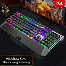 Ajazz AK525 Magnum Ergonomic <b>Esports USB Wired</b> Mechanical ...