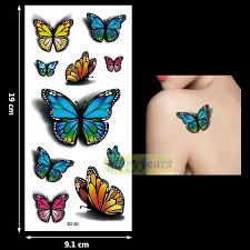 <b>New 1PC Fashion</b> Women Men Waterproof Temporary Tattoo ...
