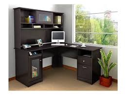 attractive black corner office desk 4 glass l shaped desk walmart black glass office desk 1