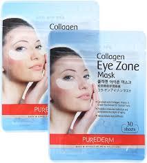 Purederm Коллагеновая <b>маска для области вокруг</b> глаз, 2 х 25 г ...