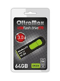 USB Flash Drive 64Gb OltraMax 270 OM 64GB 270 Yellow - Чижик