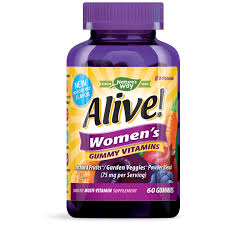 <b>Alive</b>! Women's <b>Gummy</b> Daily <b>Multivitamin</b> Supplement, 60 ct ...