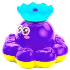 <b>Bradex Игрушка</b> детская для ванны <b>Фонтан</b>-<b>осьминожка</b> цвет ...