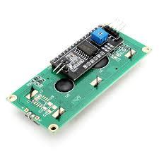 IIC / I2C <b>1602 Blue Backlight LCD</b> Display Module For Arduino-buy ...