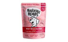 Купить <b>Barking Heads</b> паучи для собак с говядинойи бурым рисом ...