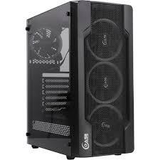 <b>Корпус Powercase X4</b> Mesh LED без БП с окном — купить, цена и ...