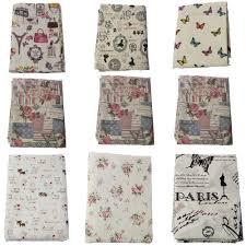 <b>Buulqo</b> Printed upholstery Cotton <b>Linen Fabric</b> Textile DIY ...