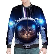 <b>Бомбер Космический</b> кот #2163857 от The Spaceway по цене 3 ...