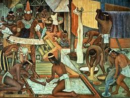 Resultado de imagen para pinturas indigenistas sin zapatos