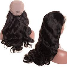 Glueless Body Wave Lace Front Wigs 18 inch ... - Amazon.com