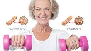 Resultado de imagem para osteoporose e exercicio fisico
