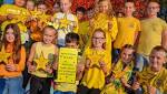 Youngsters mark World Mental Health Day in Tiverton with Hello Yellow scheme