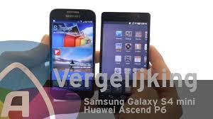 Samsung Galaxy S4 mini vs Huawei Ascend P6 review (Dutch ...