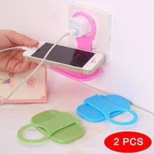 2 шт. <b>Пластиковая Подставка для</b> зарядки мобильного телефона ...