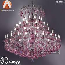 Lampadario Murano Rosa : Murano vetro di stile maria teresa lampadario con rosa e cristalli