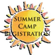 summer camp sign with professional teachers