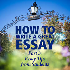 how to write a great essay part inside emory admission essay tips from current students