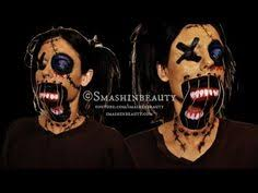creepy scary voodoo doll makeup makeup tutorial 2016 american horror story coven makeup you