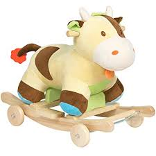 Amazon.com: Best Choice Products <b>Kids Ride On Plush</b> Cow ...