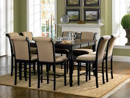 Tall Dining Room Chairs Bar Height Counter Coaster Fine Furniture 101828 101829 Cabrillo