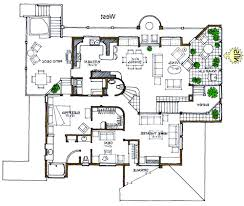 RUSTIC  Green Home  Solar Home  Efficient Modern House PlanView Reverse Floor Plan Image