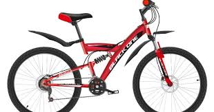 <b>Велосипед Black One Ice</b> FS 24 D красный/черный/белый купить