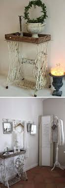 Shabby Chic Decor 52 Awesome Shabby Chic Decor Diy Ideas Projects Sewing Machine