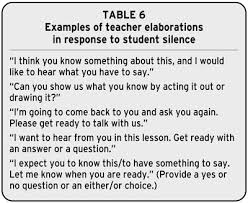 extending english language learners classroom interactions using   but they can be done courteously and with warmth the consequences of not following up on students responses can be far more detrimental our classroom