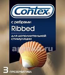 <b>Contex презерватив ribbed</b> с ребрышками n3 - цена 137 руб ...