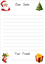 lined christmas paper for letters do your kids write letters to lined christmas paper for letters do your kids write letters to santa every year letters templatesanta template
