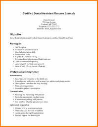 9 dental assistant example resume job bid template dental assistant example resume dental assistant resume example example 6 jpg